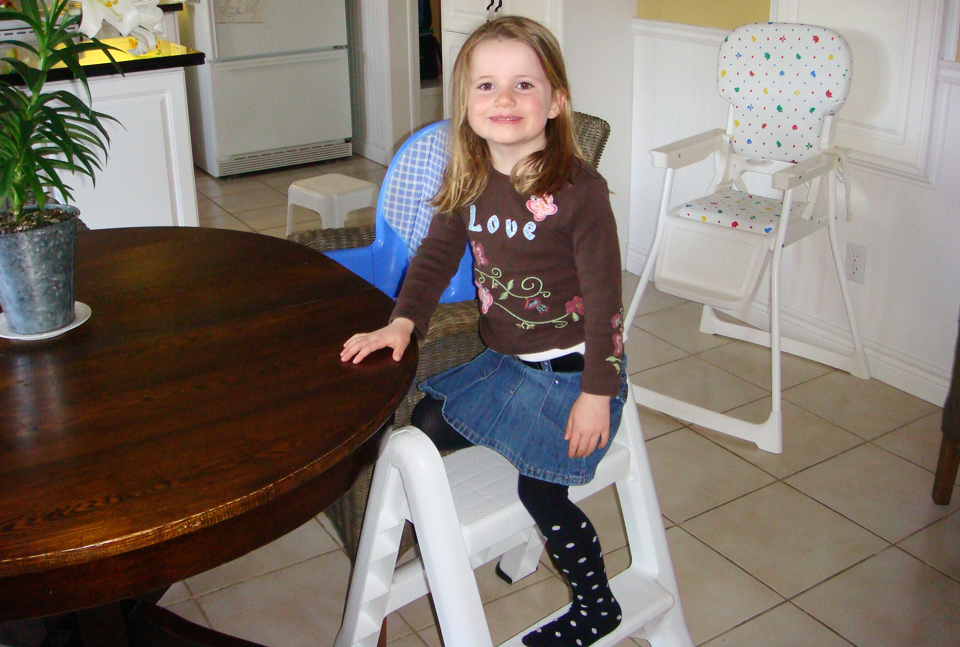 Step Up High Chair Confidence